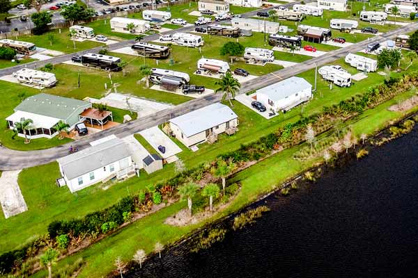 A Treasure Coast RV Park Manufactured Home Community