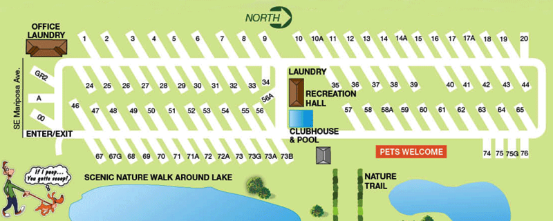 Map Of Port St Lucie Florida.Psl Village Rv Park Mobile Home Park In Port St Lucie Fl